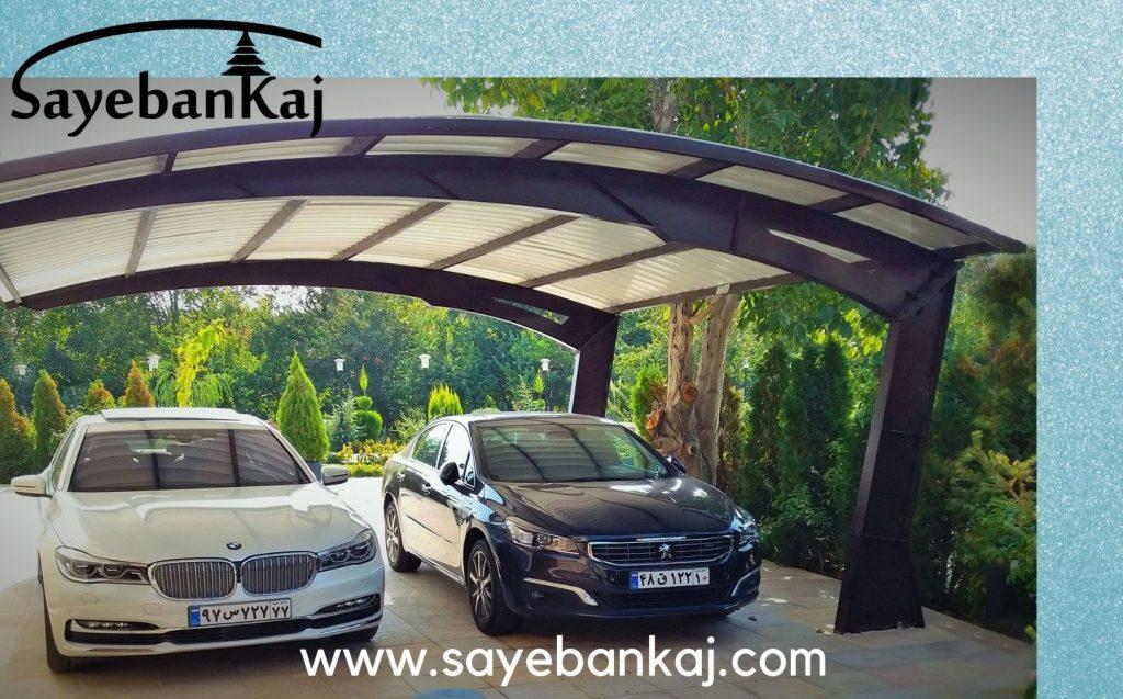 سایبان پارکینگ خودرو   سایبان پارکینگ ماشین   سایبان پارکینگ